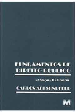 Fundamentos de Direito Público - 4ª Ediçao